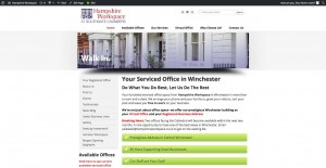Hampshire Worksace website screengrab