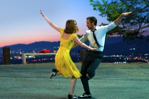 Ryan Gosling and Emma Stone in La La Land
